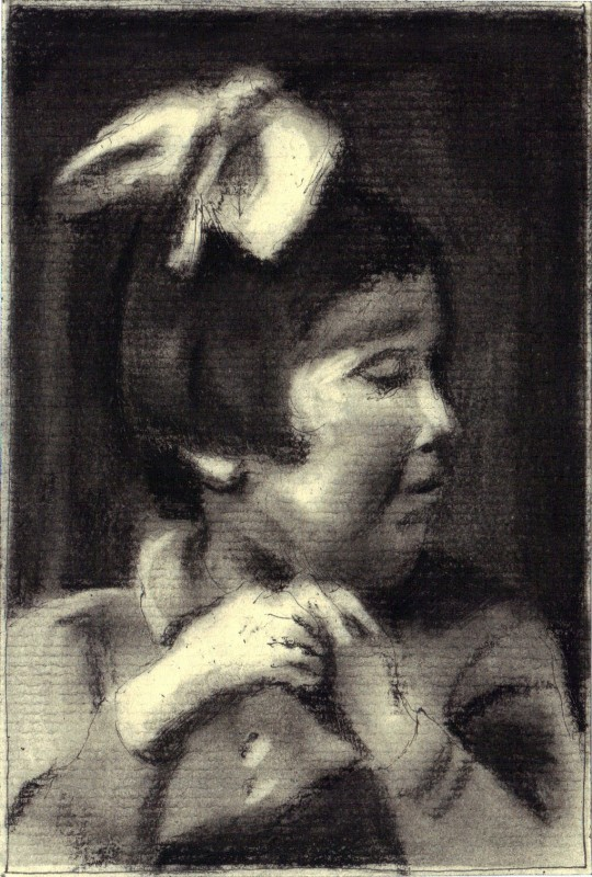 Hetty de Lange Sobibor ink charcoal on paper 9x13cm 2013 Alle Jong 540x800 Lost & Shredded, art & life