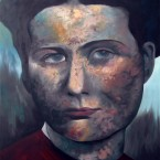 Irena Sendler 230x150cm oil on linnen 2014 Alle Jong sm 145x145 More images