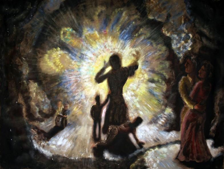 The last Revelation 270x200cm 2012 785x592 Voyage trough time